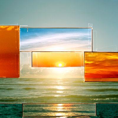 sunset by bornholm