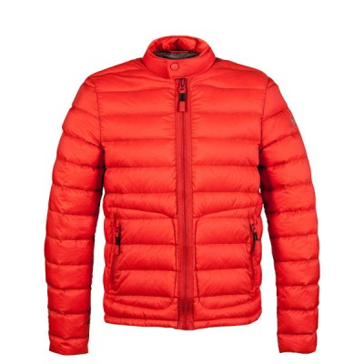 mens-orange downjacket iwishusun