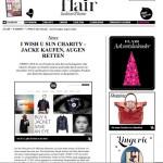 iwishusun in flair- magazine