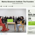 marina abramovic kickstarter campaign